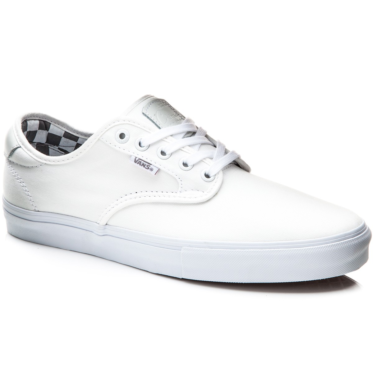 Vans Chima Ferguson Pro Shoes - Mono White/White - 8.0