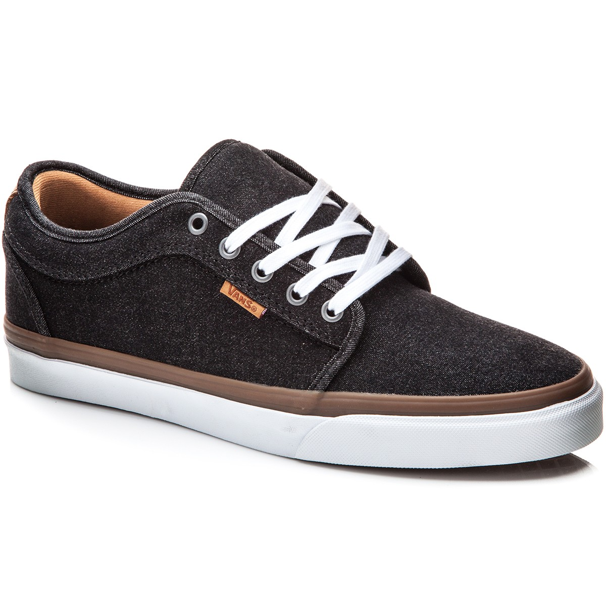Vans Chukka Low Shoes - Denim Black/White - 10.0