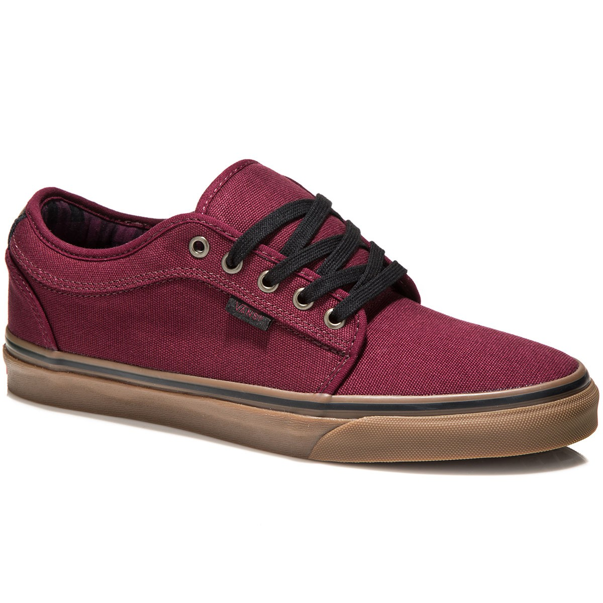 Vans Chukka Low Shoes - Plaid/Port - 8.0