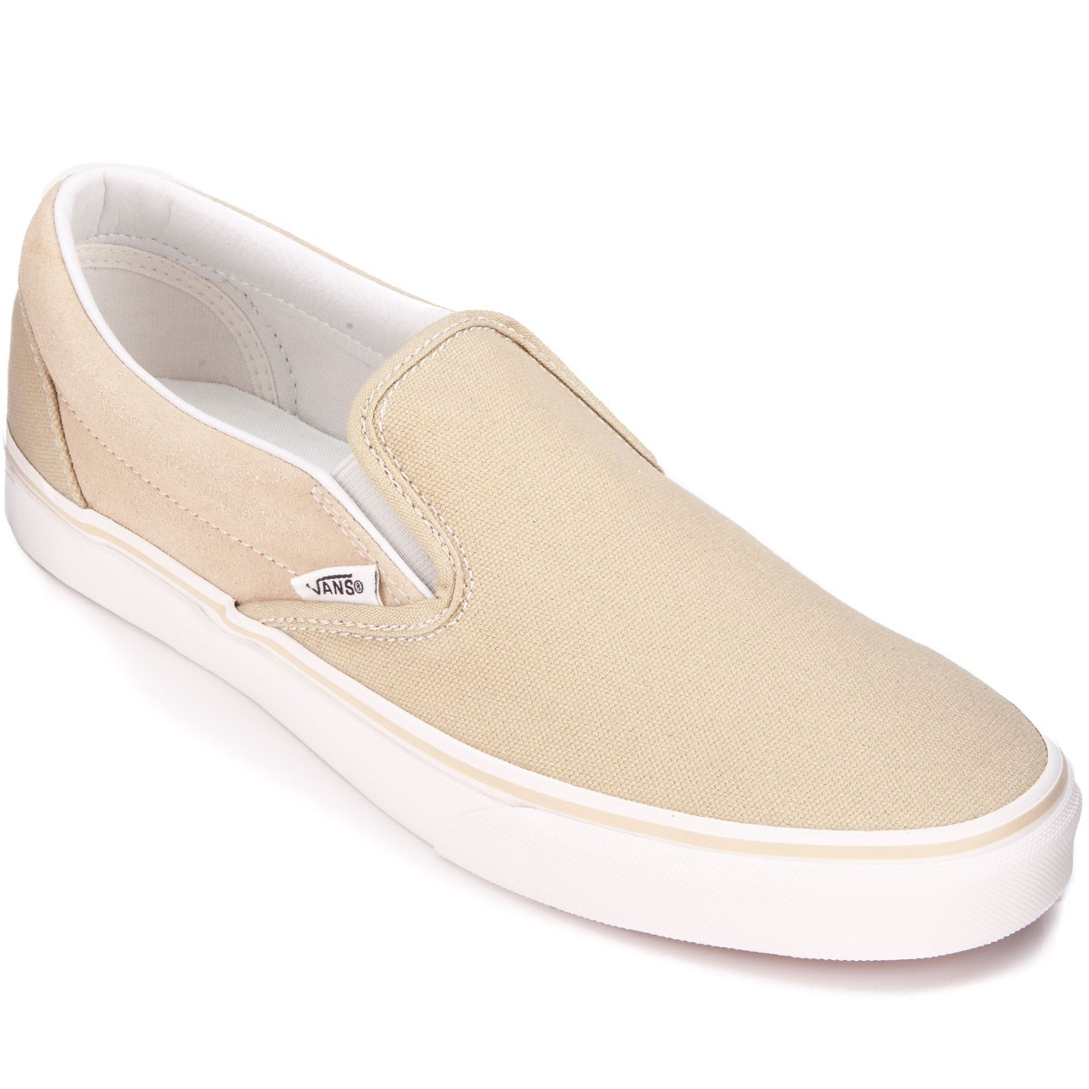 Vans Classic Slip-On Shoes - Pale Khaki - 6.0