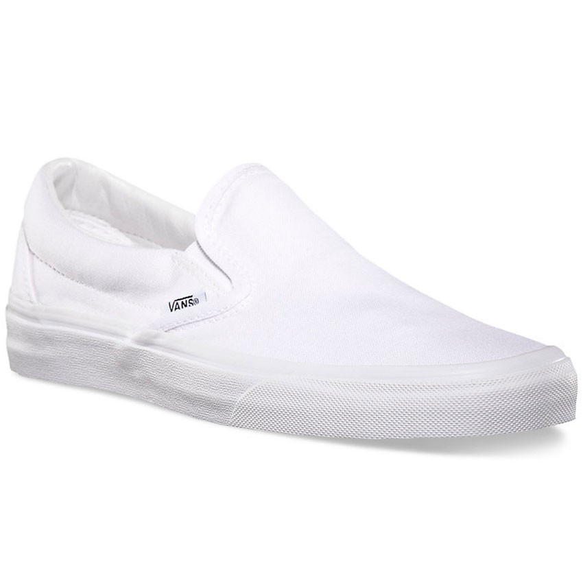 Vans Classic Slip-On Shoes - True White - 6.0