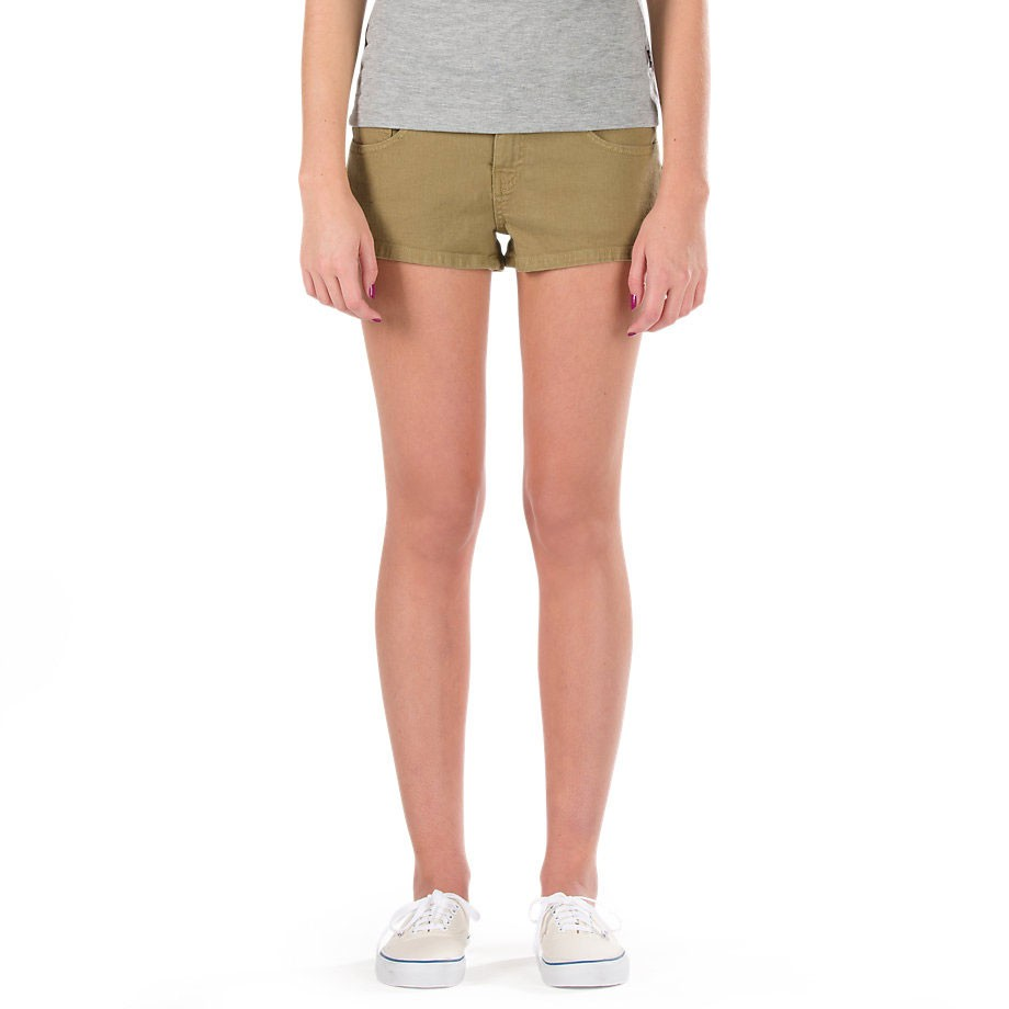 Vans Clean Mini Shorts - Gothic Olive