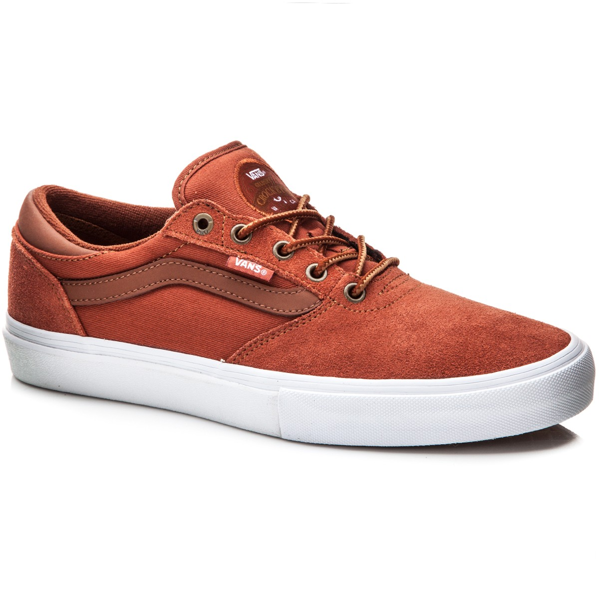 Vans Gilbert Crockett Pro Shoes - Auburn/White - 10.0