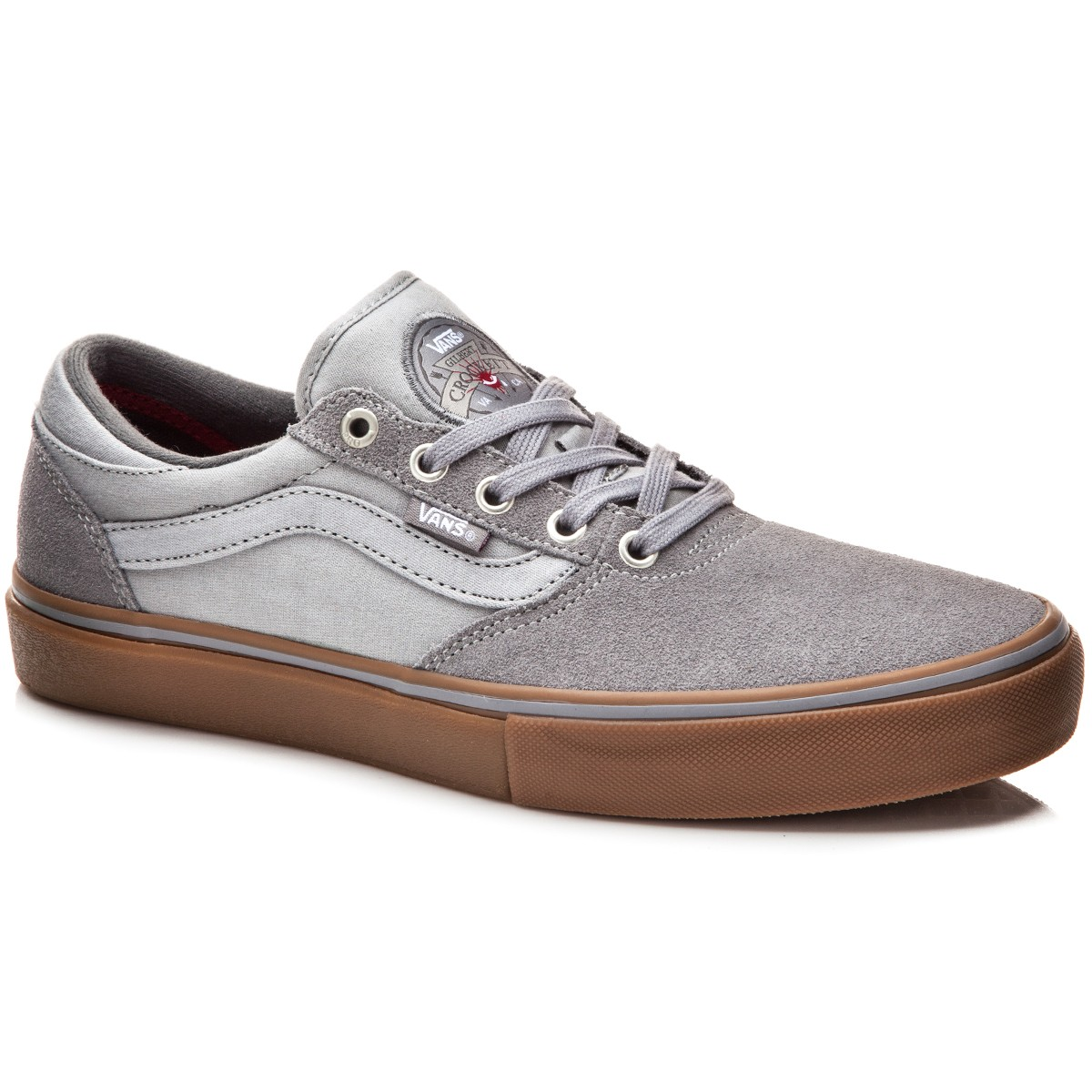 Vans Gilbert Crockett Pro Shoes - Chambray Grey/Gum - 10.0