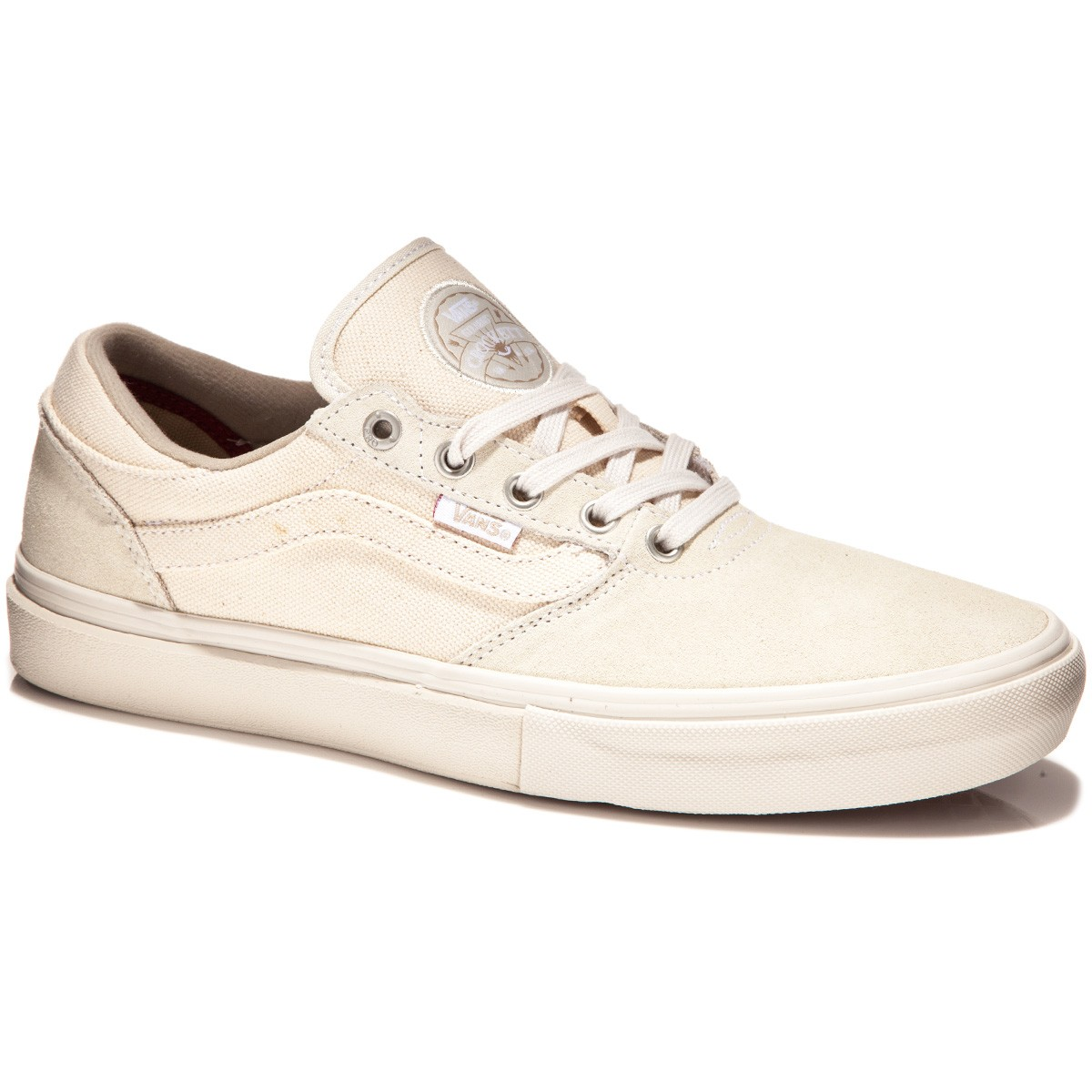 Vans Gilbert Crockett Pro Shoes - Natural Canvas - 8.0