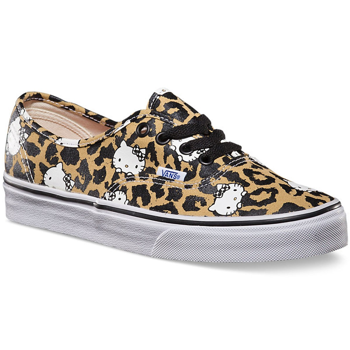 Vans Hello Kitty Authentic Shoes - Leopard/True White - 7.5