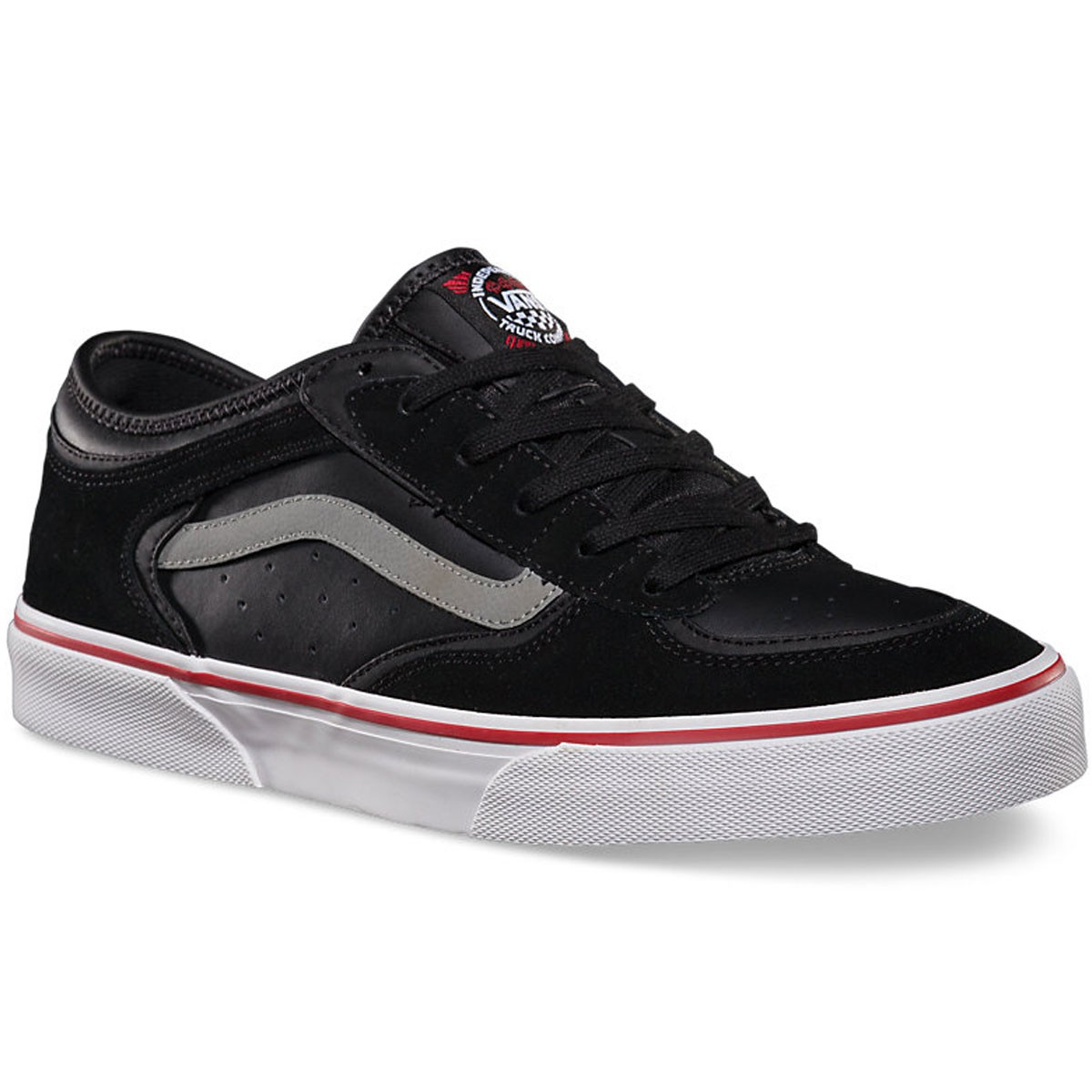 Vans Independent Rowley Pro Shoes - Black - 10.0