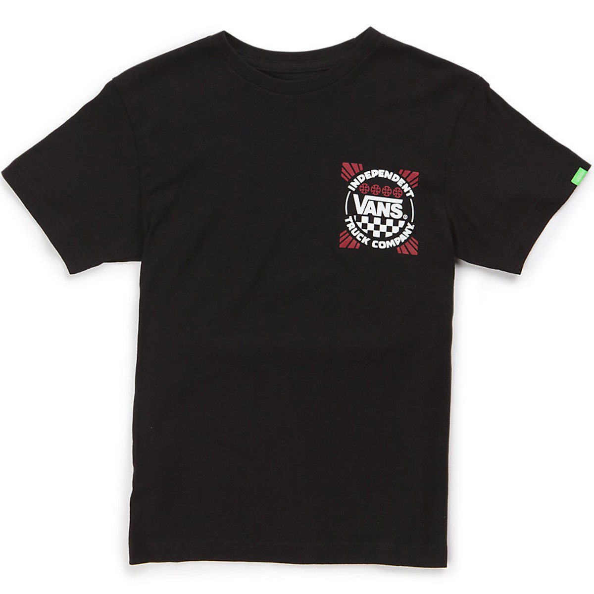 Vans Indy Logo Boys T-Shirt - Black