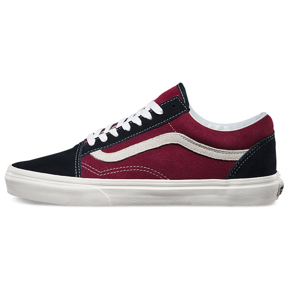 Vans Old Skool Vintage Shoes Blue GraphiteWindsor Wine 6.0