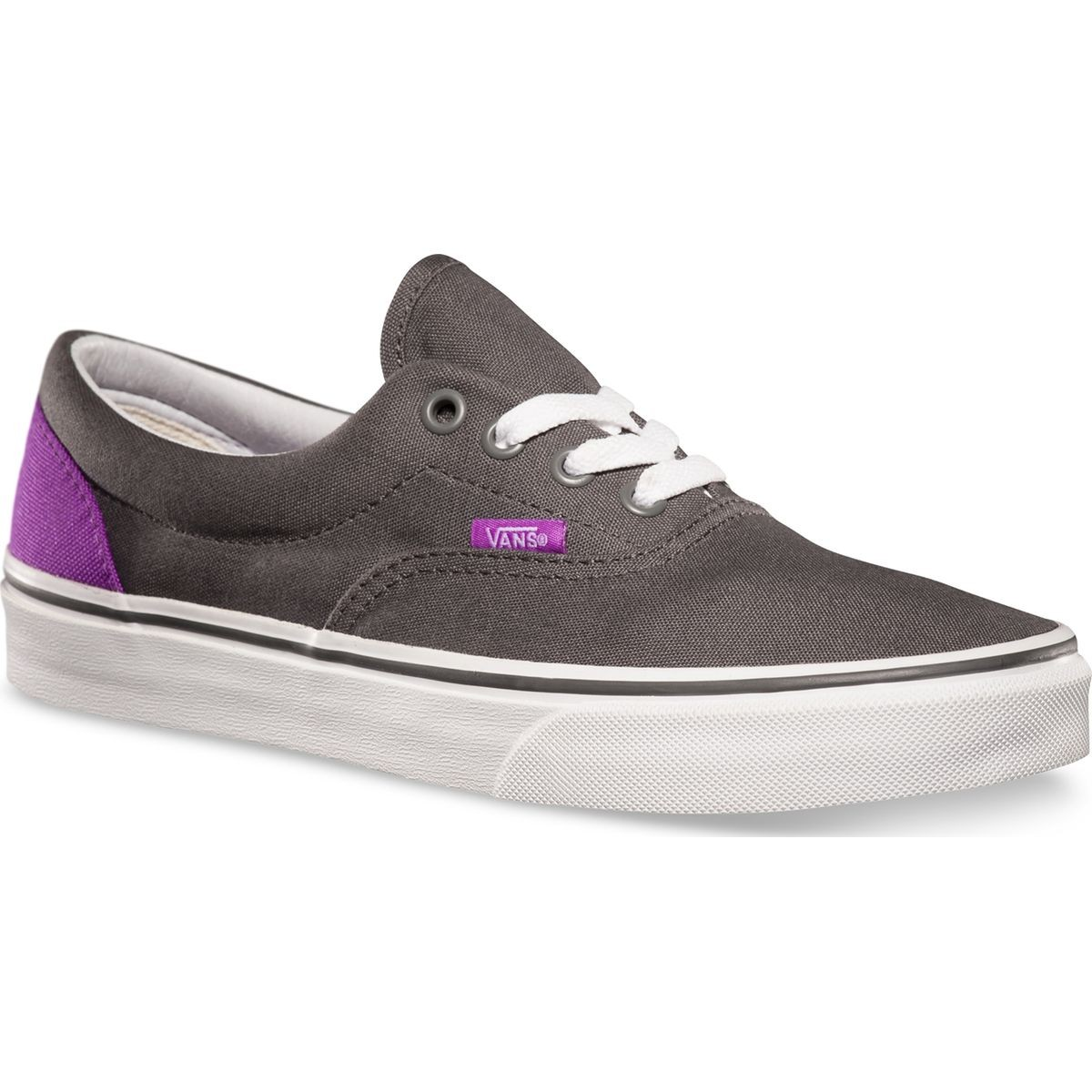 Vans ERA Heel Pop Shoes - Pewter/Neon Purple - 4.5