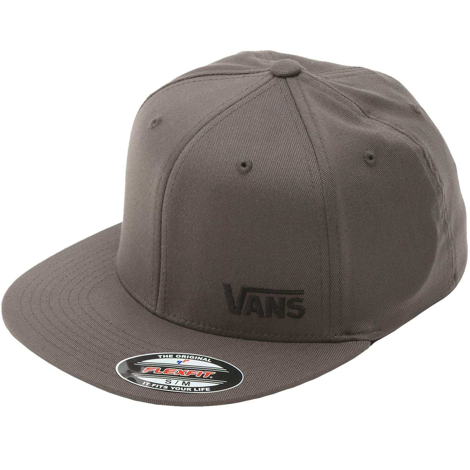 Vans Splitz Flexfit Hat - Charcoal