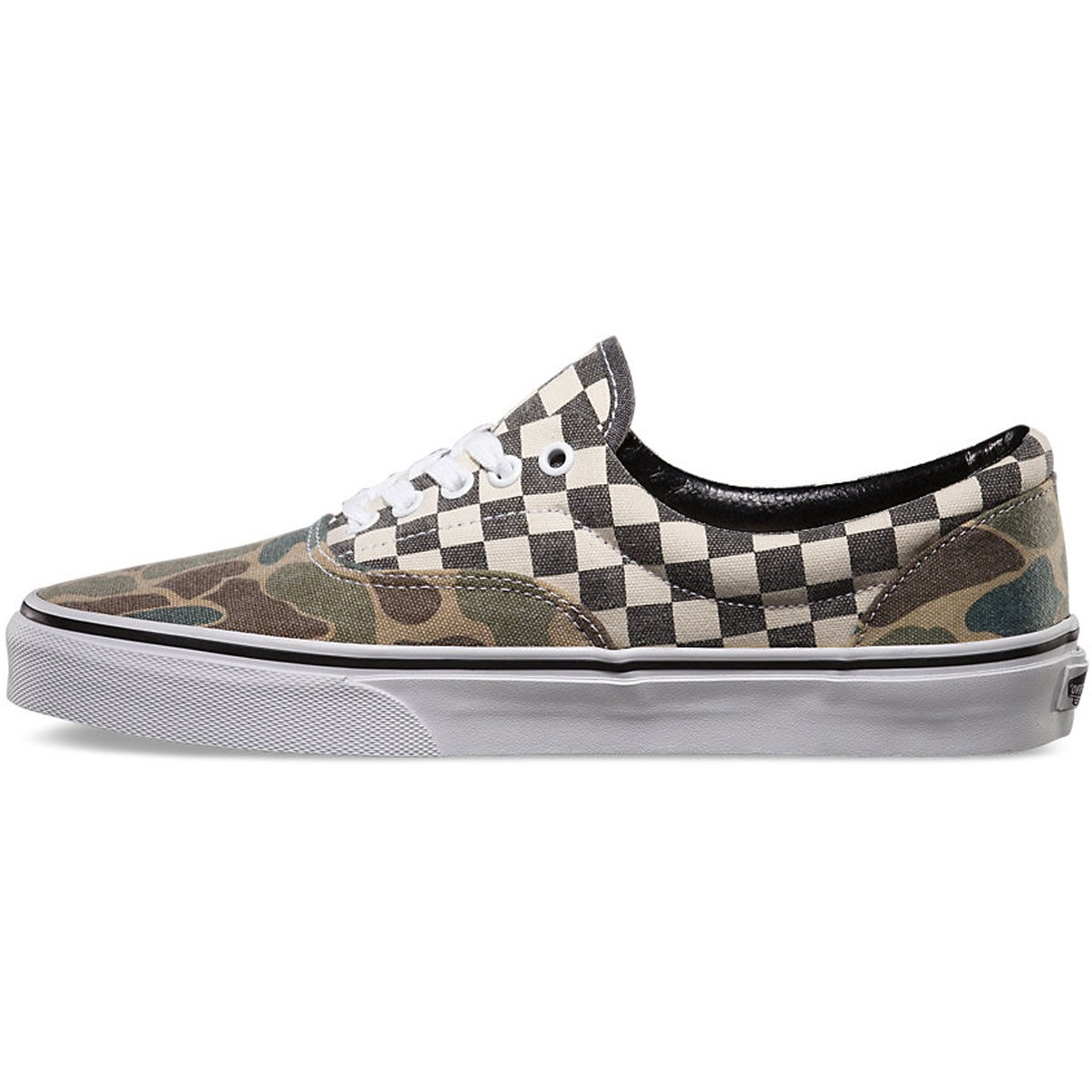 6c26156227 Vans Van Doren Era Shoes - Camo White Checker - 10.0