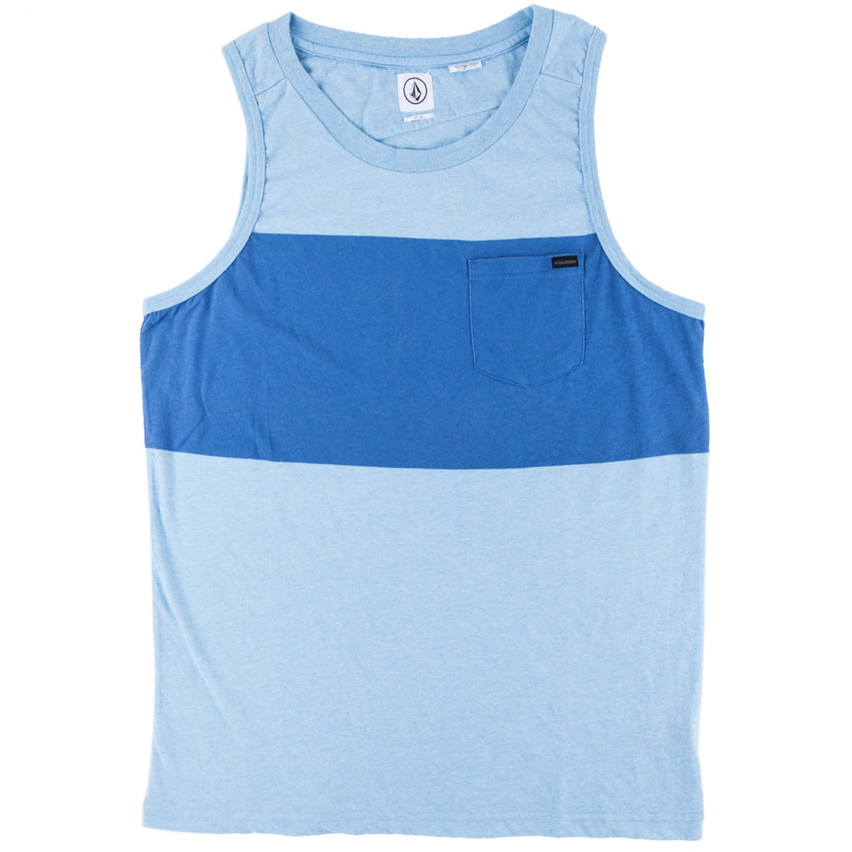 Volcom Big Stripe Tank - Blue Bird