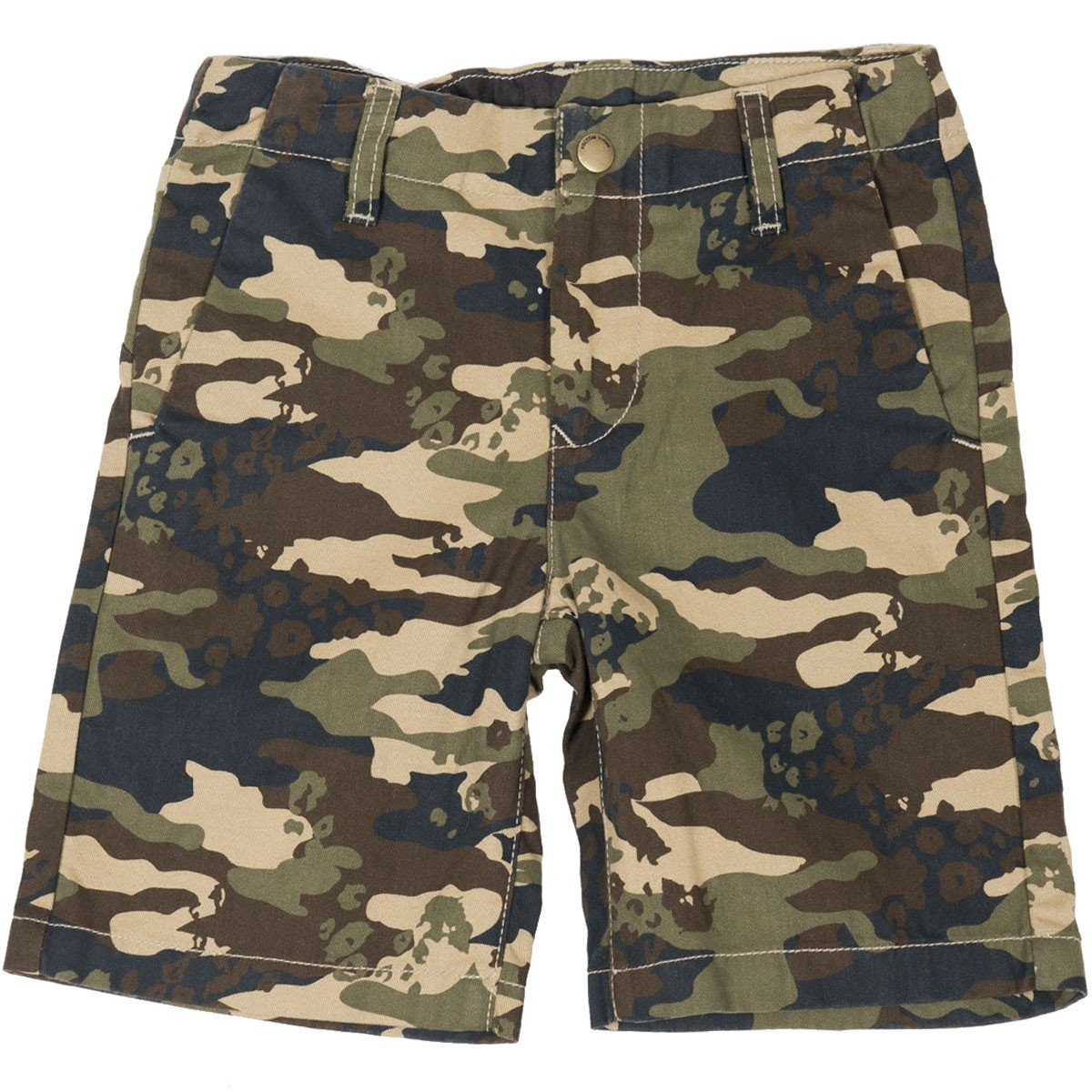 Volcom Faceted Youth Shorts - Dark Khaki