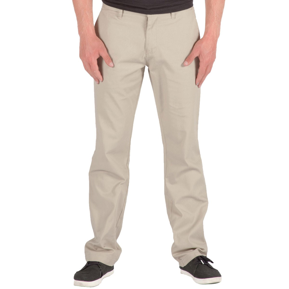 Volcom Frickin Modern Stretch Chino Pants - Stone