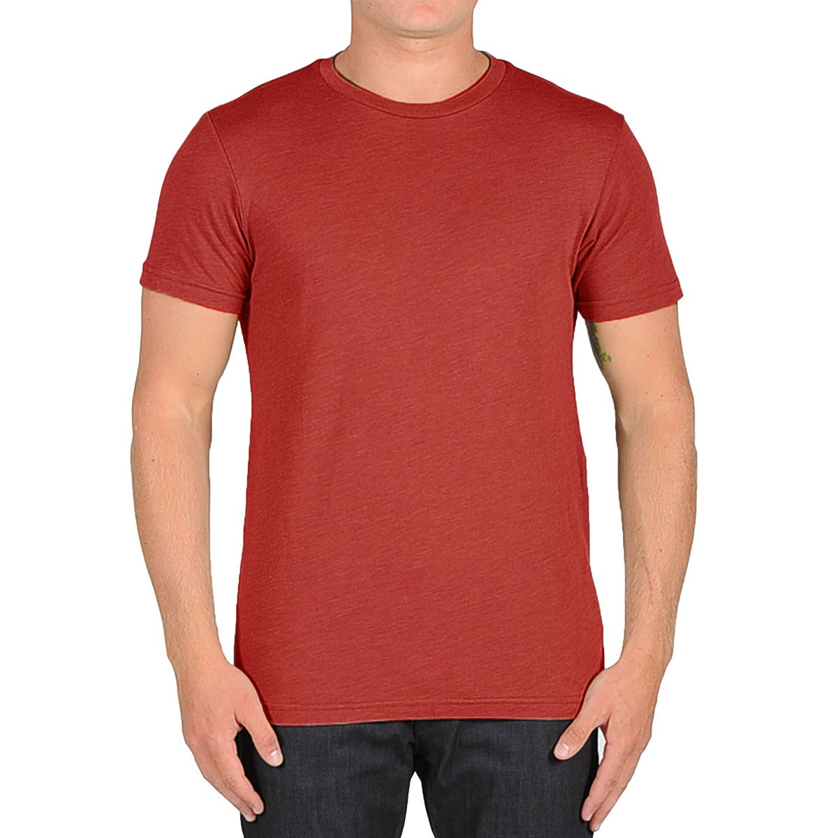 Volcom Heather Solid T-Shirt - Burgundy Heather