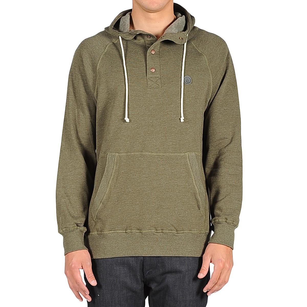 Volcom Pulli Pullover Hoodie - Fatigue Green