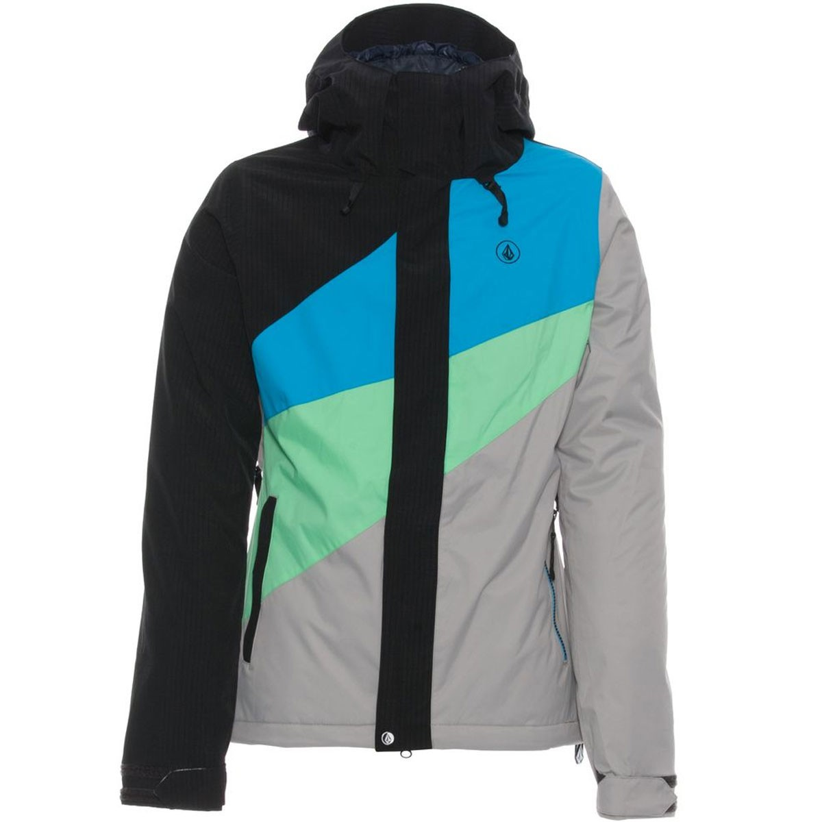 Volcom Slogan Insulated Jacket - Black - Women's