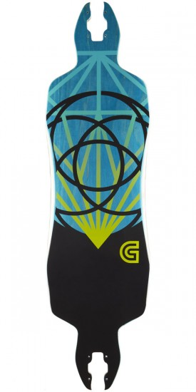 Gold Coast The Lume Drop Through Longboard Deck