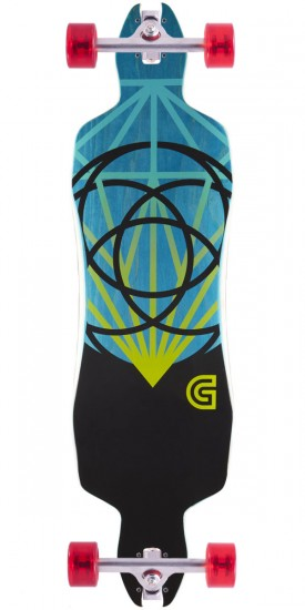 Gold Coast The Lume Drop Through Longboard Complete