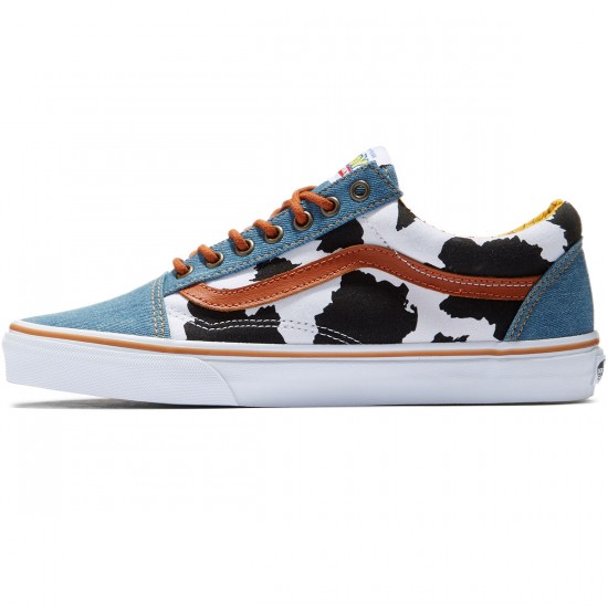 Vans X Disney Toy Story Old Skool Shoes - Woody/Denim - 8.0