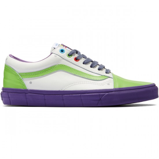 Vans X Disney Toy Story Old Skool Shoes - Buzz Lightyear/True White - 8.0