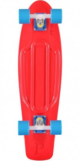 Penny Nickel Complete Skateboard - Red-White-Blue