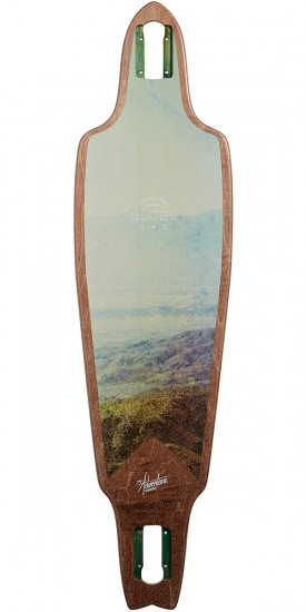 Globe Prowler 38 Longboard Deck - Lemon Valley