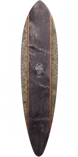 Globe Pintail 34 Longboard Deck - Moonlighting Lit