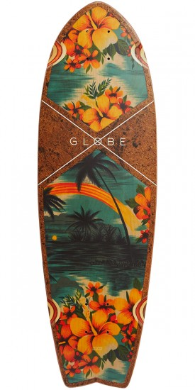 Globe Sun City Longboard Deck - Coconut/Hawaii