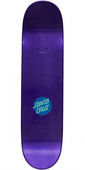 Santa Cruz Classic Dot Team Skateboard Deck - 8.0