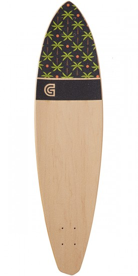 """Goldcoast The Dead Days 36"""" Pintail Longboard Complete"""