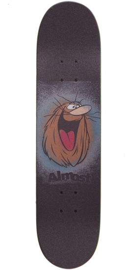 Almost Nappying Caveman Youth Premium Skateboard Complete - Brown - 7.375