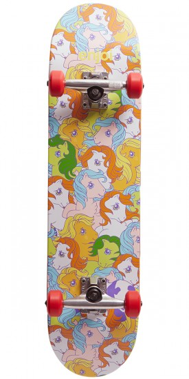 Enjoi My Little Pony Soft Wheel Skateboard Complete - Multi - 7.625