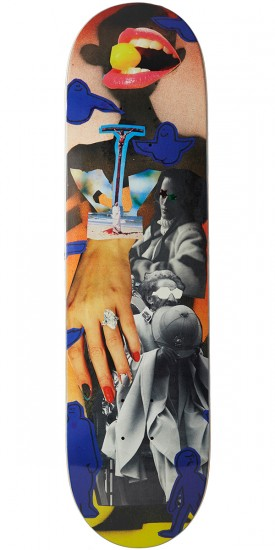 Krooked Anderson Collage Skateboard Deck - 8.18""