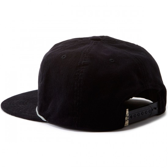 Fourstar Pirate Cord Fall 2016 Hat - Black