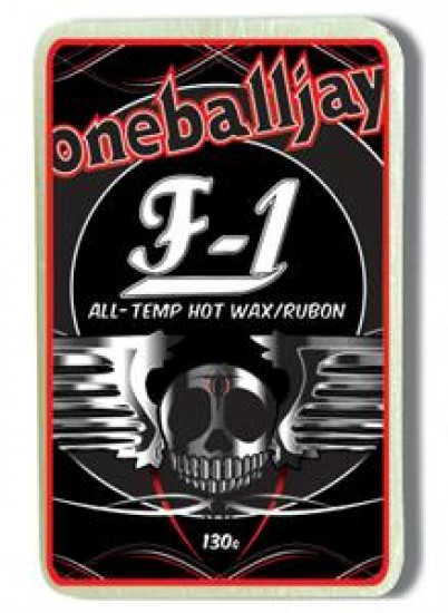 One Ball Jay F1 All Temperature Snowboard Wax 130 Gram