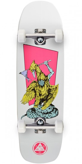 Welcome Twenty Eyes on Golem Skateboard Complete - White Dip - 9.25