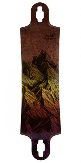 Landyachtz Switchblade 38 Mountain Yellow Fade Longboard Deck
