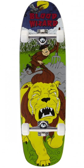 """Blood Wizard Scarecrow Skateboard Complete - 8.88"""""""