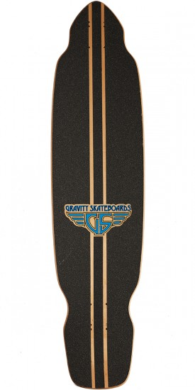 "Gravity 39"" Carve South Pacific Longboard Deck"