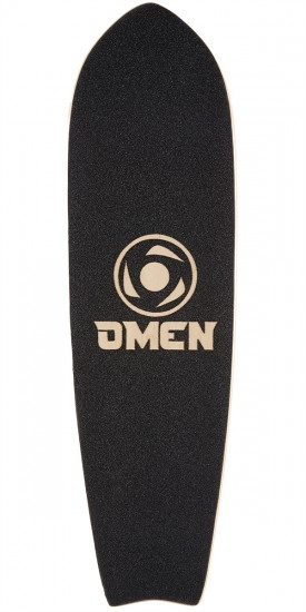 "Omen Waiving the Bird 34"" ST Longboard Deck"