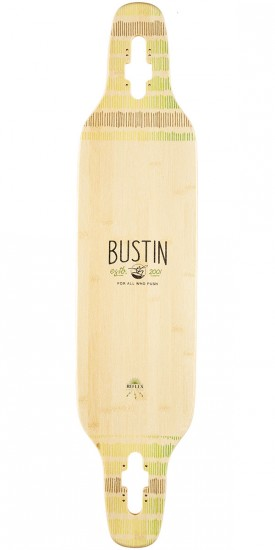 Bustin All Knowing 39 Longboard Deck