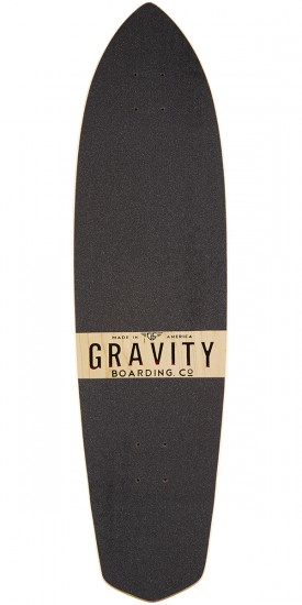 "Gravity 36"" Classic Cruiser Polynesian Dream Longboard Deck"