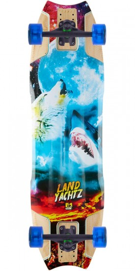 Landyachtz Wolf Shark Re-Issue Longboard Complete
