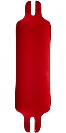 Pantheon Trips Red 8ply Longboard Complete
