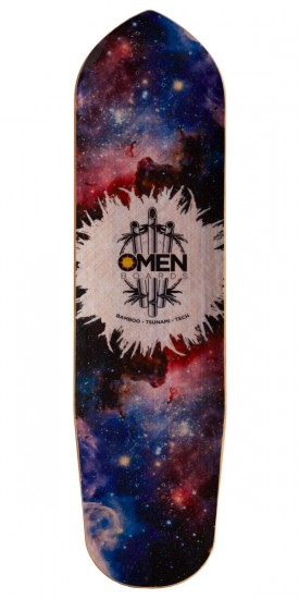 Omen Mini Sugar 2.0 Longboard Deck - 2017