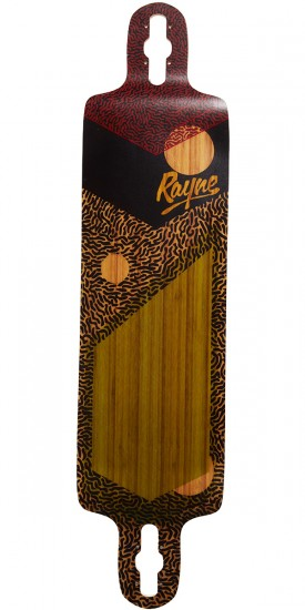 Rayne Demonseed V3 Longboard Deck - Space Jam
