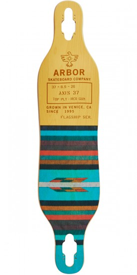 "Arbor Axis 37"" Flagship Longboard Deck - 2017"