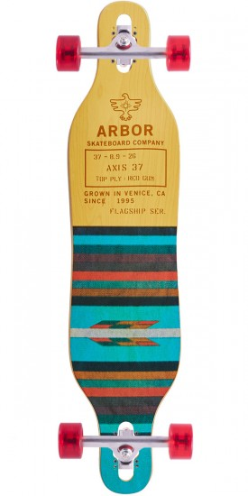 """Arbor Axis 37"""" Flagship Longboard Complete - 2017"""